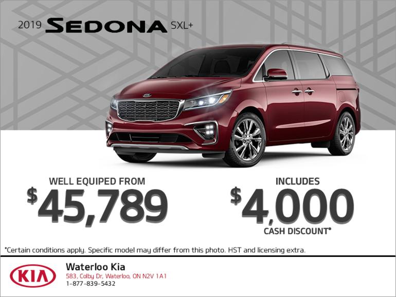 Get the 2019 Kia Sedona!