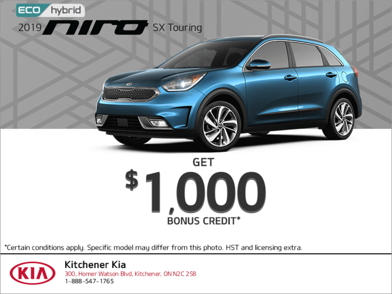 Get a 2019 Kia Niro today!