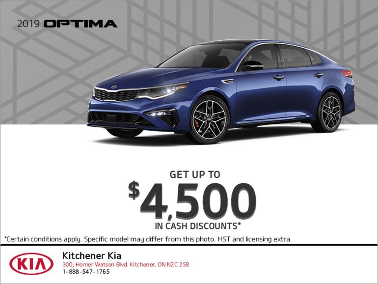 Get the 2019 Kia Optima!