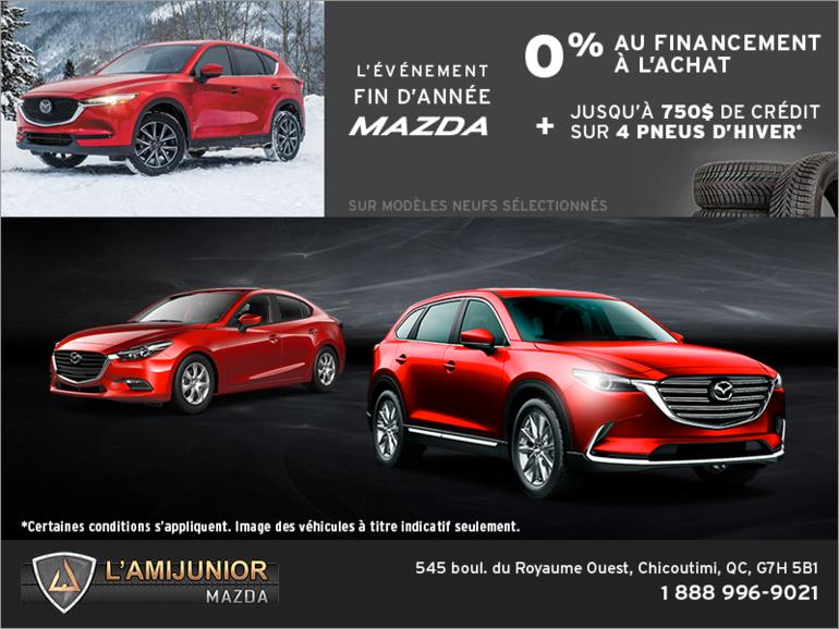 L'événement fin d'année de Mazda