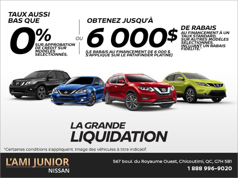 La Grande Liquidation 2018 de Nissan