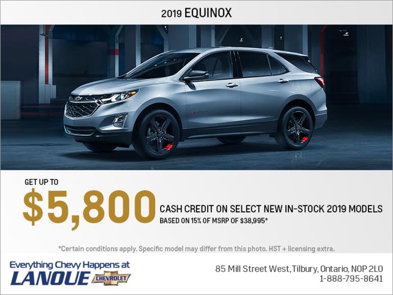 Get the 2019 Chevrolet Equinox