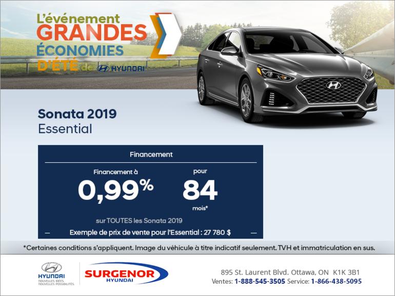 Financez la Sonata 2019!