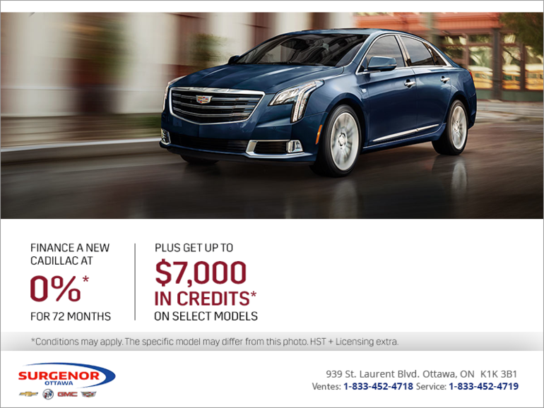 Cadillac's Monthly Event