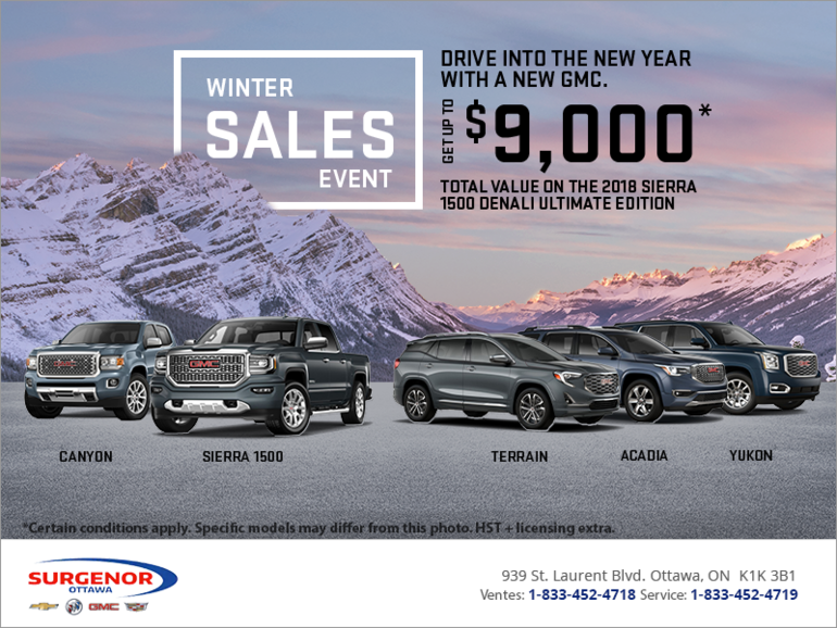 Winter Sales Event