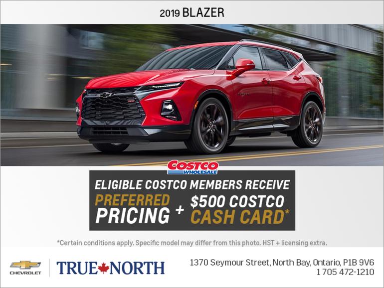 Get the 2019 Chevrolet Blazer