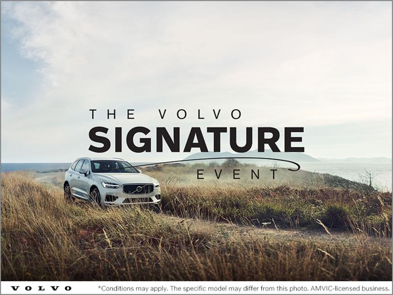 The Volvo Signature Event
