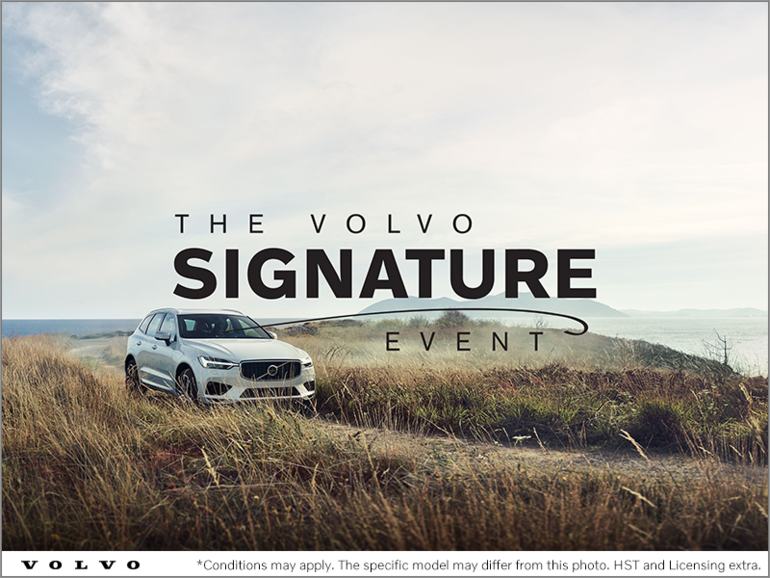 The Volvo Signature Event