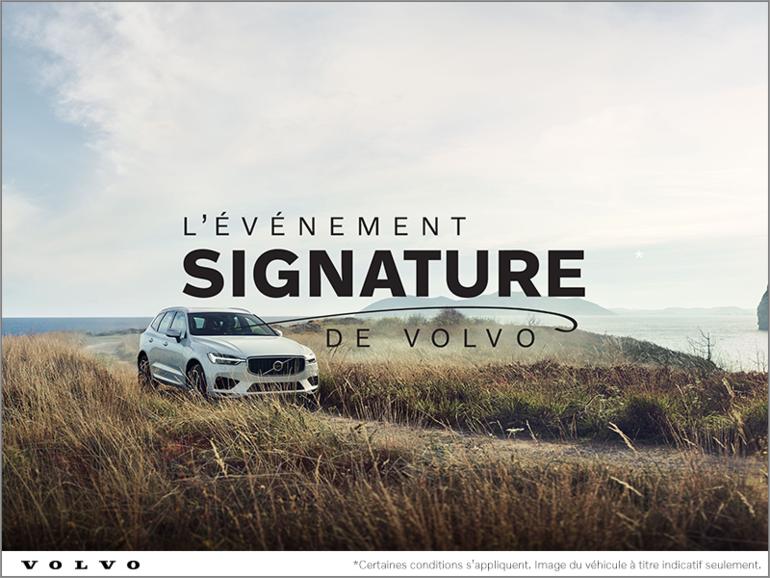 L'événement Signature chez Volvo