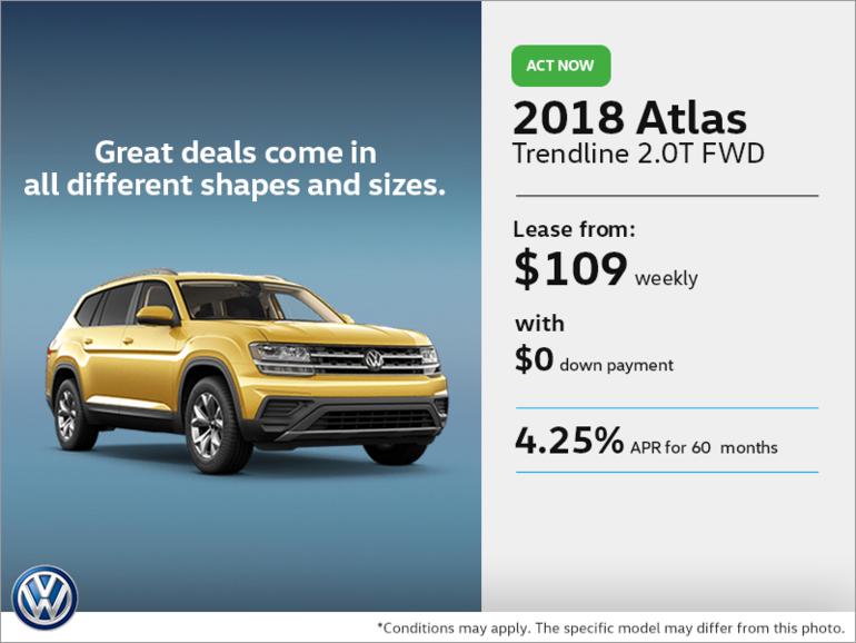 Lease the 2018 Atlas!