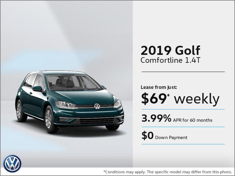 Get the 2019 Golf!