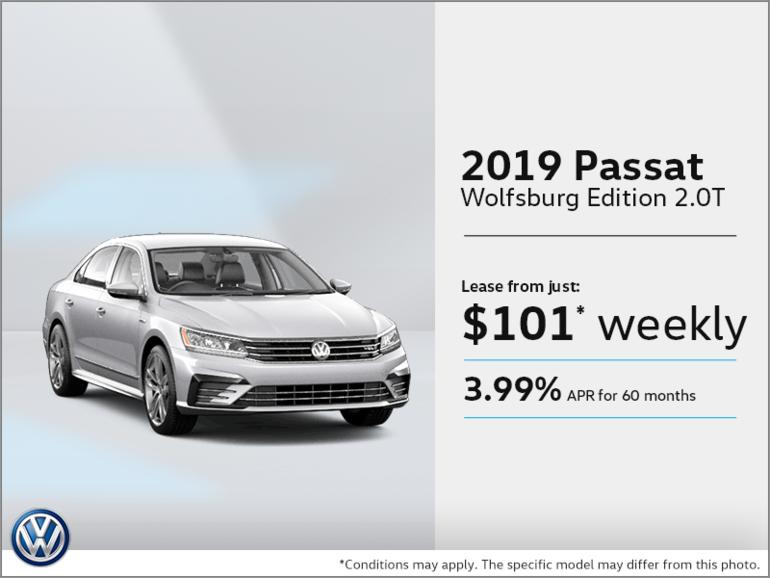 Get the 2019 Passat!