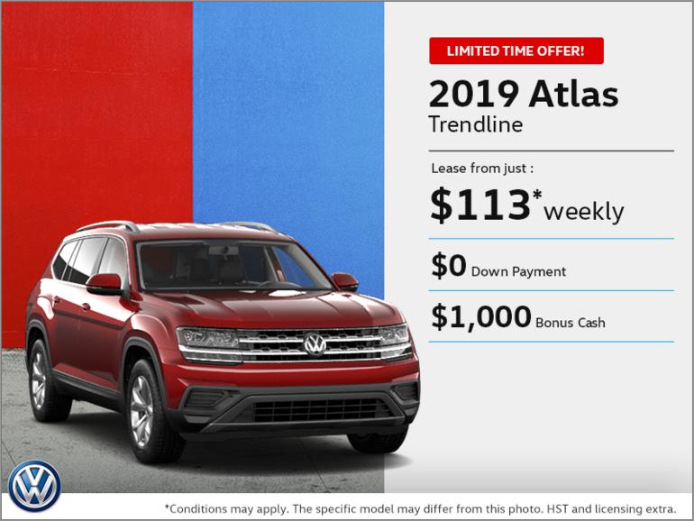 Lease the 2019 Atlas!