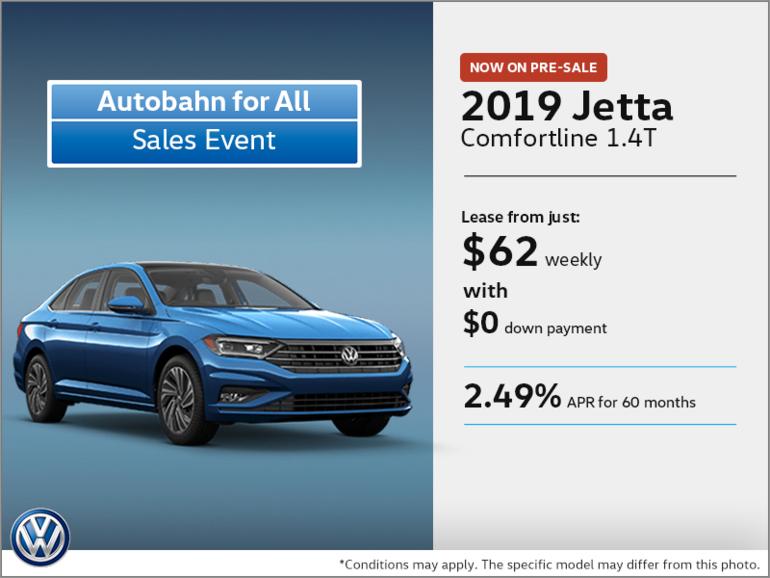 Get the 2019 Jetta on Pre-sale!