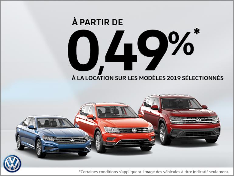 L'événement mensuel de Volkswagen!