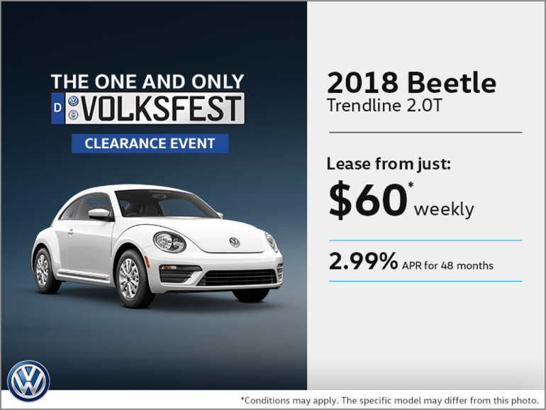 Lease the 2018 Beetle!