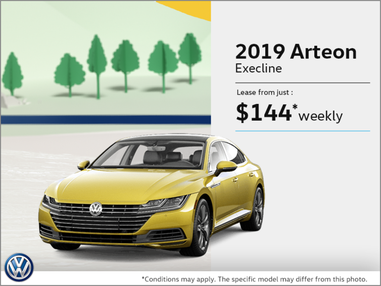 Lease the Arteon 2019!