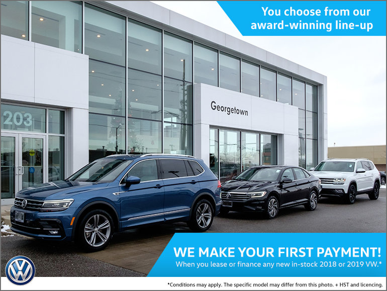 We make your first payment