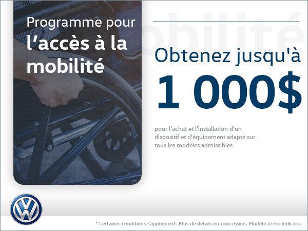 Programme pour l'accès à la mobilité Volkswagen