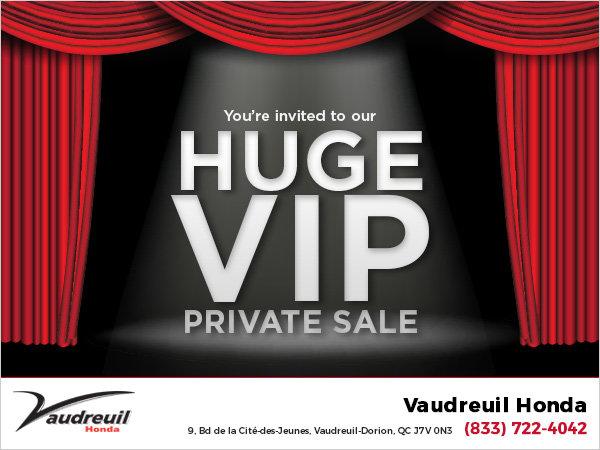 Huge VIP Private Sale!