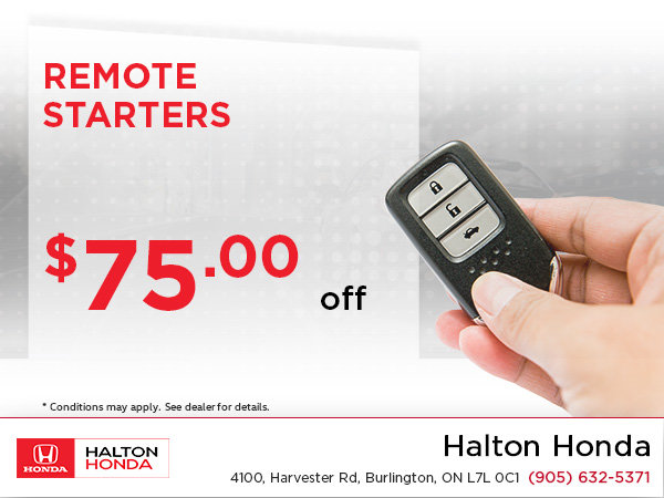 Save on Remote Starters!