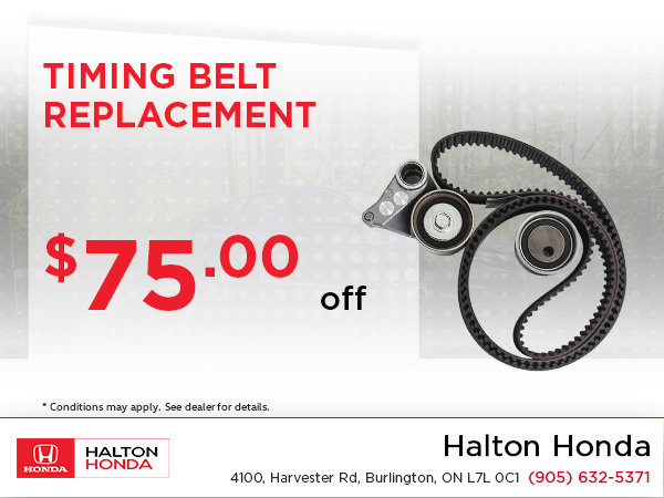 Save On Your Timing Belt Replacement!