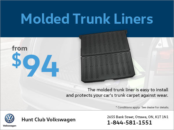 Get Molded Trunk Liners from $94!