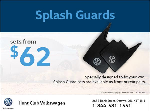 Get Splash Guard Sets from $62!