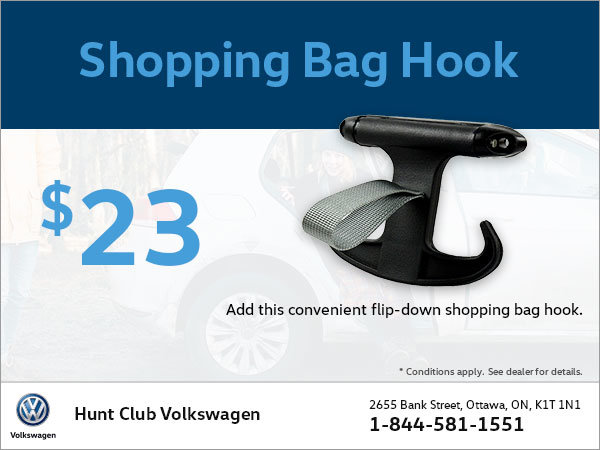 Get a Shopping Bag Hook for $23!