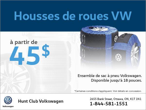 Obtenez des housses de roues VW àpartir de 45$!