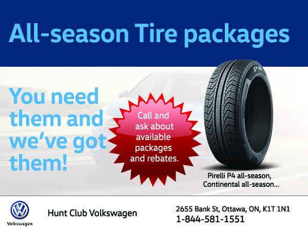 All-season Tire packages