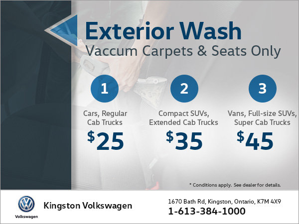Get an Exterior Wash and Vacuuming Services!