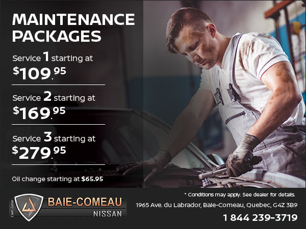 Discover Our Maintenance Packages