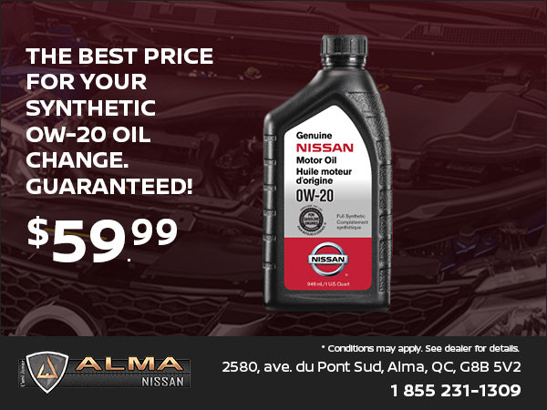 Attractive Synthetic Oil Change