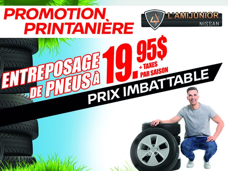 Promotion Printanière
