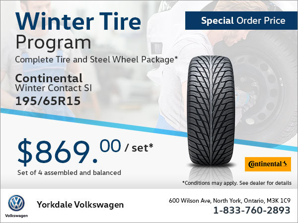 195/65R15 Tire Package (Special Order)