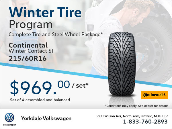 215/60R16 Tire Package