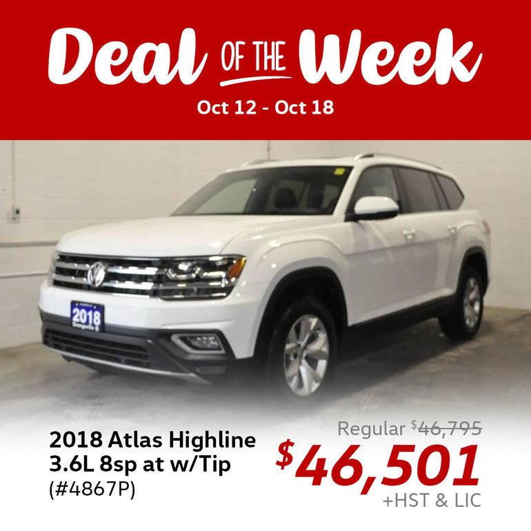 Deal of the Week: 2018 Atlas Highline