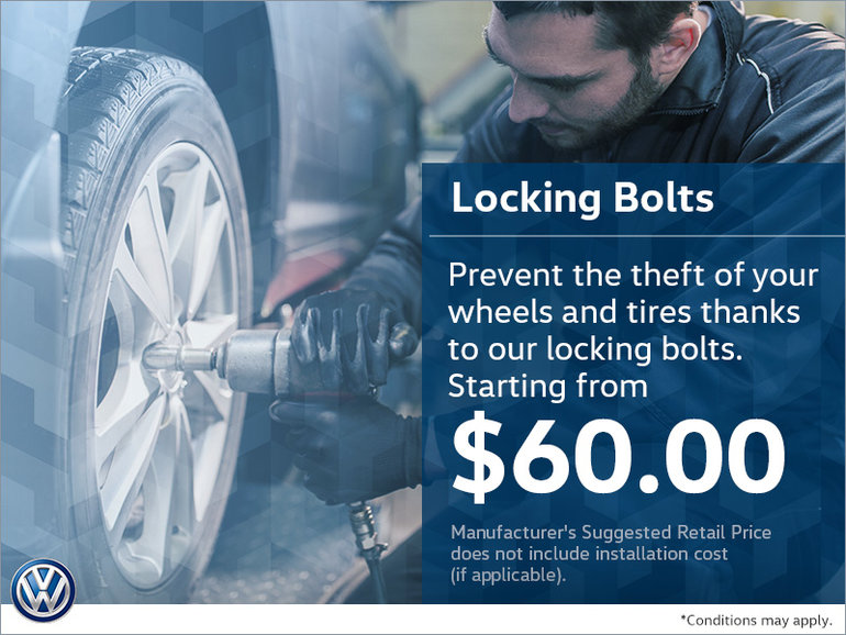 Prevent Theft With Our Locking Bolts!