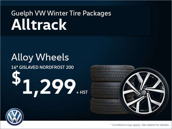Get Alloy Wheels for Your Golf Alltrack!