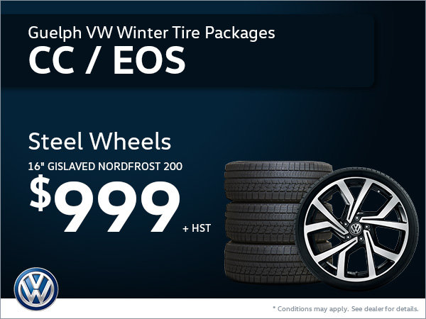 Get Steel Wheels for Your CC or EOS!