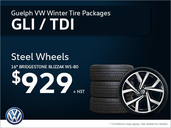 Get Steel Wheels for Your Jetta GLI or TDI!