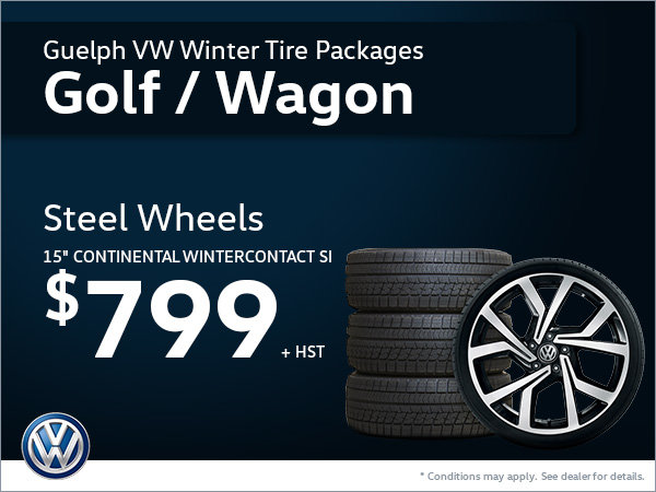 Get Steel Wheels for Your Golf or Golf Sportwagon!