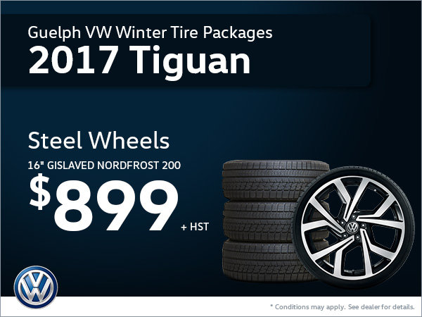 Get Steel Wheels for Your 2017 Tiguan!