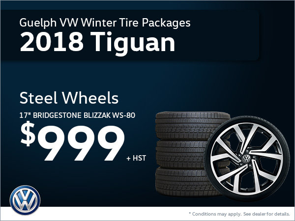 Get Steel Wheels for Your 2018 Tiguan!