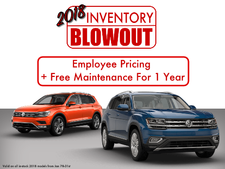 2018 Inventory Blowout