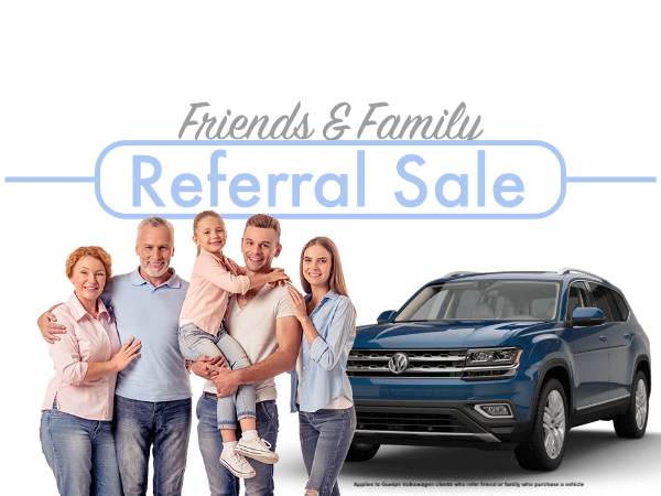 Friends & Family Referral Sale