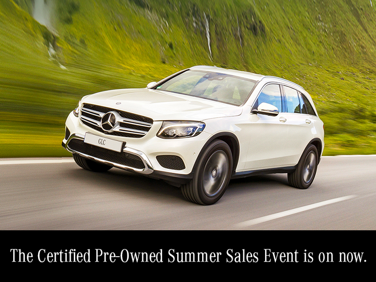 The certified pre-owned Sales Event.