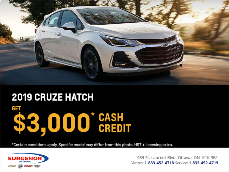 2019 Chevrolet Cruze Hatch