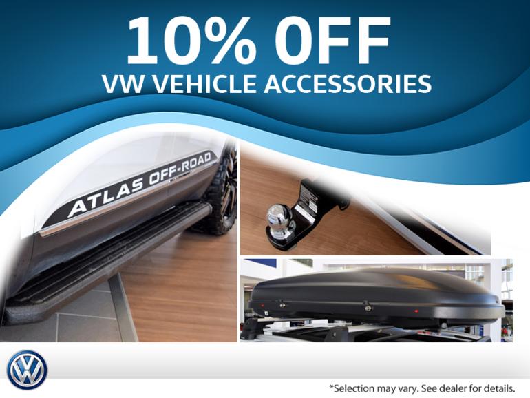 Get 10% Off Volkswagen Accessories!